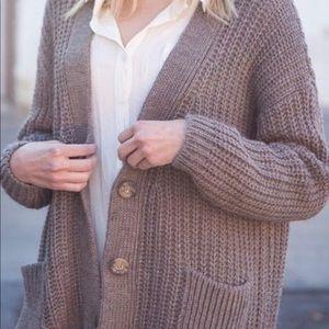 Brandy Melville Knit Cardigan Sweater